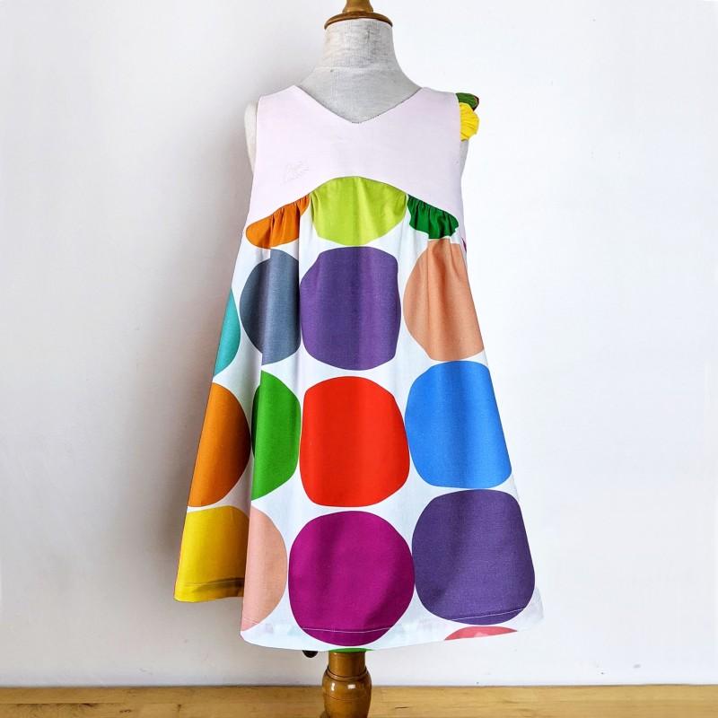 Robe Fillette Dos Nu Pampilles