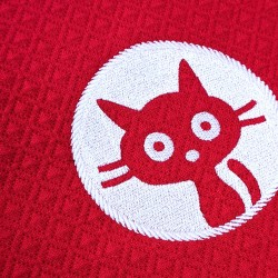 broderie chat originale